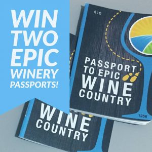 Windsor EPIC Winery Passort Draw